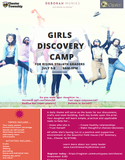 Girls' Discovery Camp