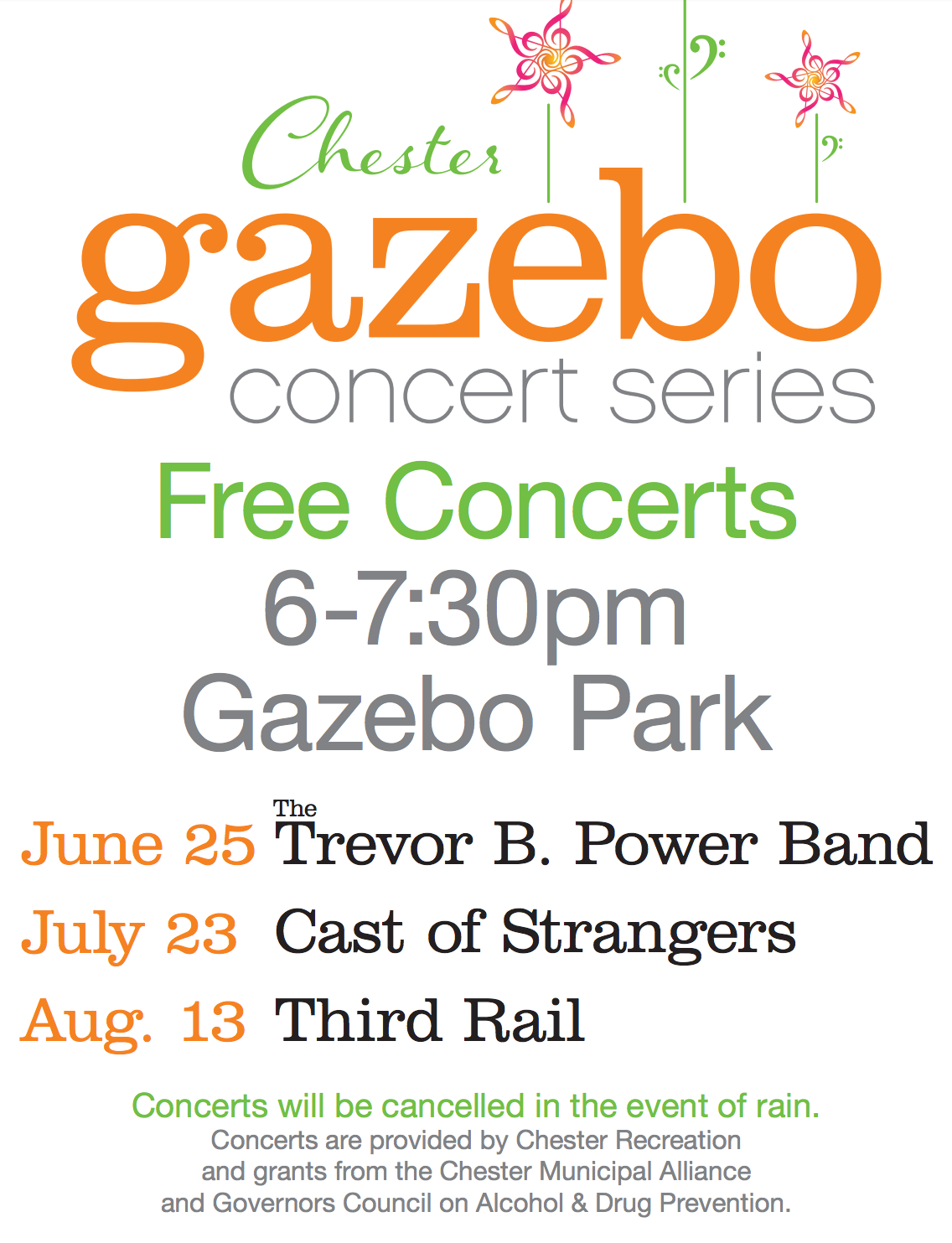 Gazebo Concert Series - Third Rail @ Gazebo Park | Chester | New Jersey | United States