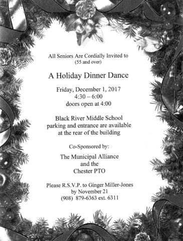 Holiday Dinner Dance @ Black River Middle School