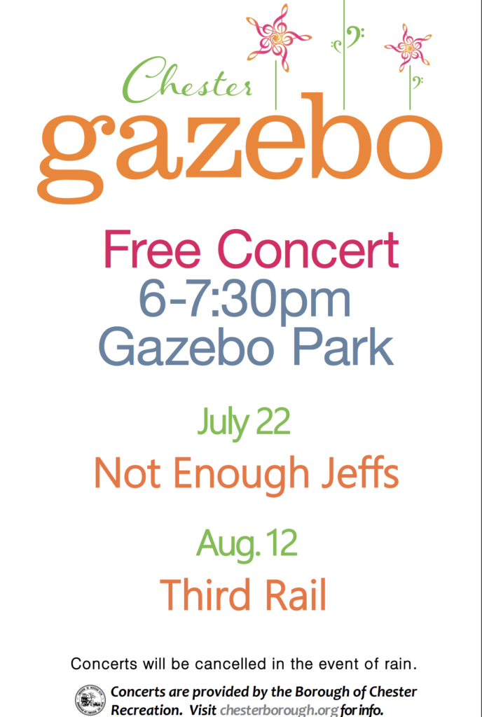 Free Concert at Gazebo Park @ Main Street, Chester NJ