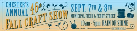 Chester's 46th Annual Fall Craft Show @ Gazebo Park | Chester | New Jersey | United States